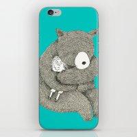 hug iPhone & iPod Skins featuring Hug by Maureen Poignonec