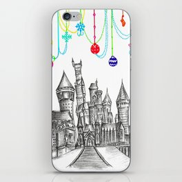 Party at Hogwarts Castle! iPhone Skin