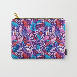 Colorful floral pattern 2 Carry-All Pouch