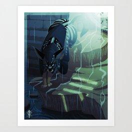 little raven Art Print