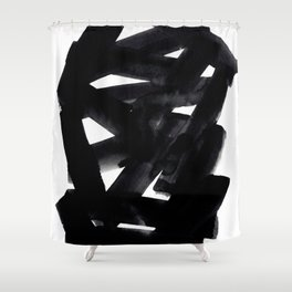 Superwatercolor Shower Curtain