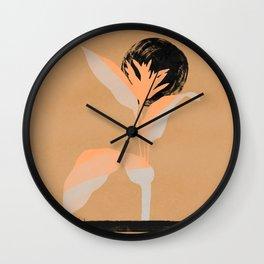 Psycho plant Wall Clock