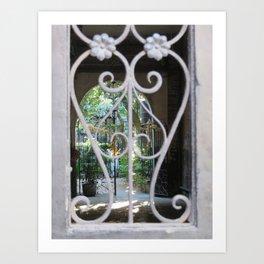 New Orleans: Secret Garden Art Print