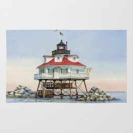 Thomas Point Light Rug