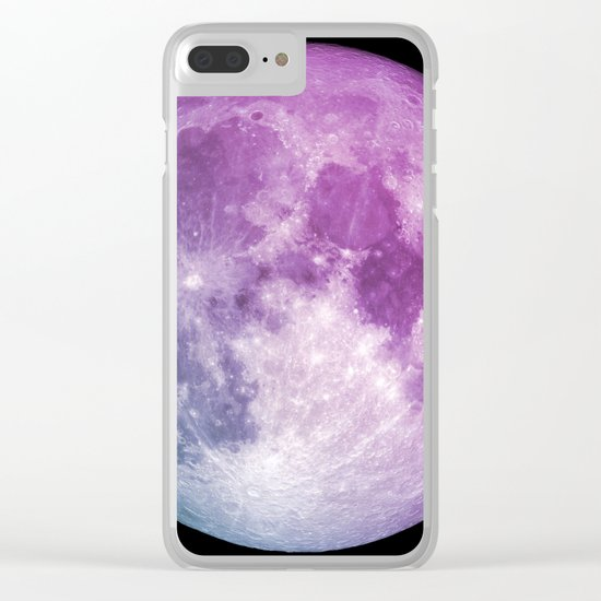 New Moon Clear iPhone Case