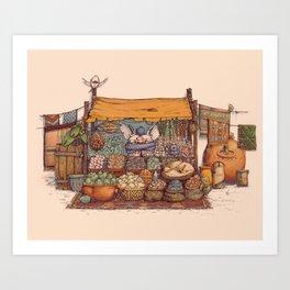 Da Bazaar Art Print