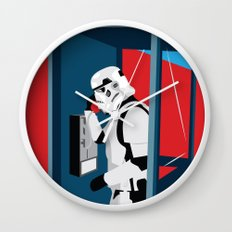 Stormtrooper Phone Home Wall Clock