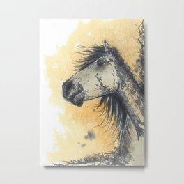 Guardian Mustang Metal Print