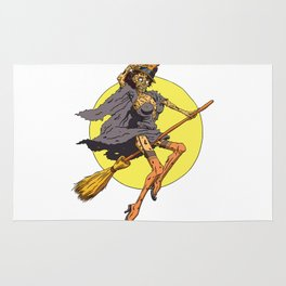 Pin up Zombie 02 Rug