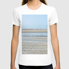 A flock of seagulls in the bay T-shirt