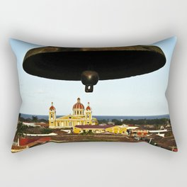 Bell Tower View, Granada, Nicaragua Rectangular Pillow