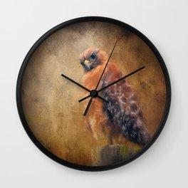 Pole Hunter Wall Clock
