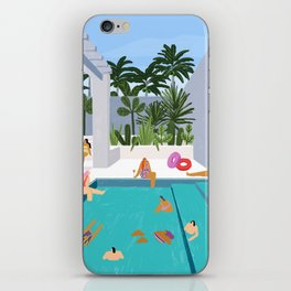 Pool oasis iPhone Skin