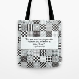 Made of Everything Tote Bag