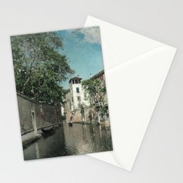 Ortega - Canal in Venice Stationery Cards