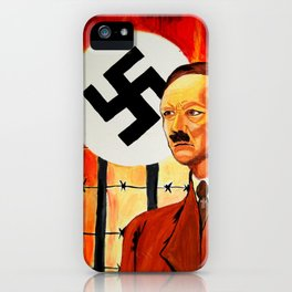 Hitler: The Face of Hate  iPhone Case