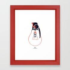 Idea Bomb (2) Framed Art Print