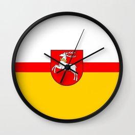 flag of Lublin Wall Clock
