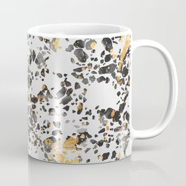 Gold Speckled Terrazzo Coffee Mug
