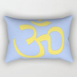 hindy om (aum)  symbol Rectangular Pillow