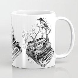 Magpie,  letterhief Coffee Mug