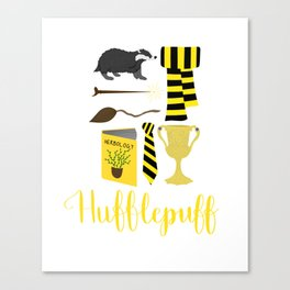 The House of Hufflepuff Canvas Print