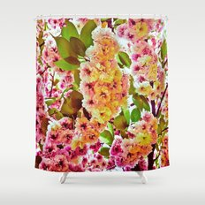 Polychrome Beauty In Full Bloom Shower Curtain