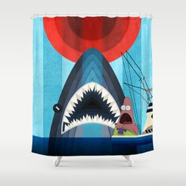 Gonna need a bigger boat Shower Curtain