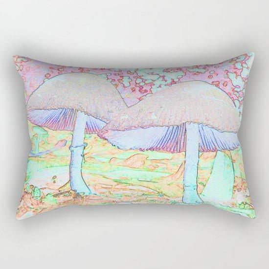 Fairy Houses Rectangular Pillow