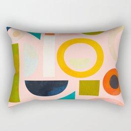 geometric play modern art Rectangular Pillow