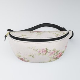 Vitorian flower wallpaper (ca 1905-1915) pattern in high resolution by Maxwell  Co Fanny Pack