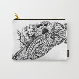 Great Horned Skull Carry-All Pouch