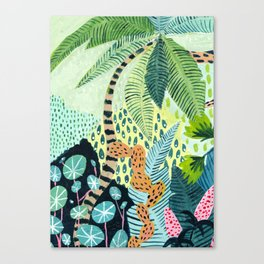 Tropical Jungles Canvas Print