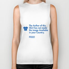 The Author of this Shirt has not made the image Available in your Country. Biker Tank