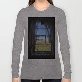 Sunset over the beach Long Sleeve T-shirt