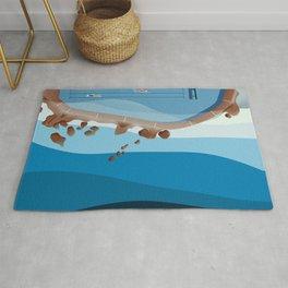 Bronte Baths Ocean Pool  Rug
