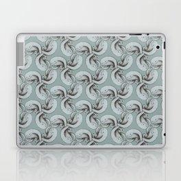 Tessellating monster pattern Laptop & iPad Skin