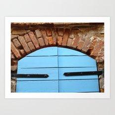 Historic St. Thomas USVI Door way Art Print