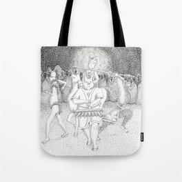 Monkey-King & his Crew Tote Bag