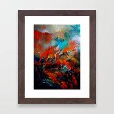 Kızıl Atlar Framed Art Print