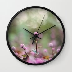 Stand Back Up Wall Clock