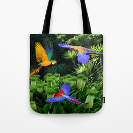 Jungle Paradise Tote Bag