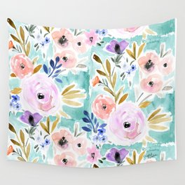 Willow Floral Wall Tapestry