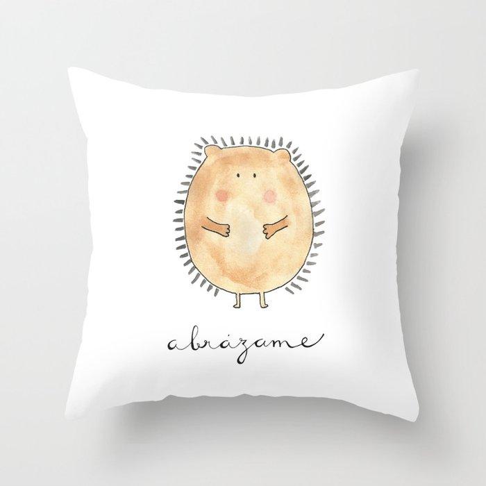 Abrázame Throw Pillow