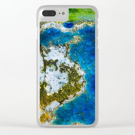 Ocean Vibe Clear iPhone Case