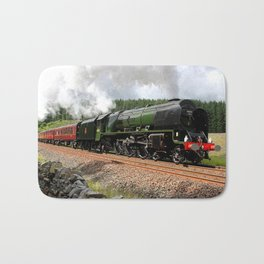 46233 Duchess of Sutherland Bath Mat