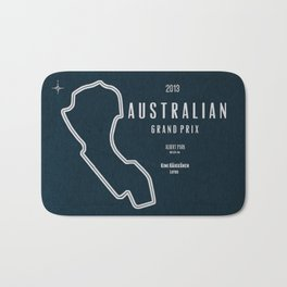 2013 Australian Grand Prix Bath Mat