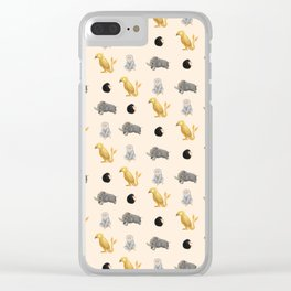 Those beasts are just fantastic. Clear iPhone Case