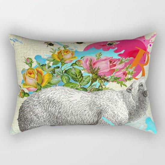 Polar Dance 2 Rectangular Pillow
