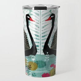 Swans by Andrea Lauren Travel Mug